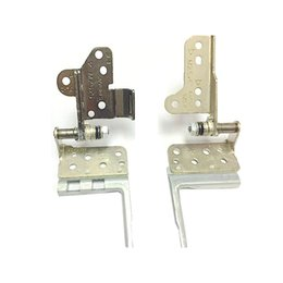 lenovo hinges NZ - Ori NEW Laptop LCD Hinges for Lenovo ThinkPad E450 E450C E455 Aluminum Metal Hinge Set L&R non-touch 00HN663 AM0TR000S00