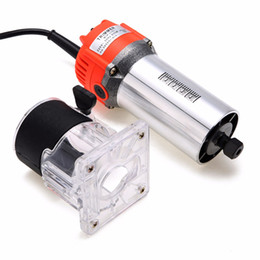 Hand trim online shopping - 800W Electric Hand Trimmer Wood Laminate Palm Router Joiner Tool RPM mm Collet Diameter V