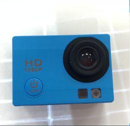 Focus Lcd NZ - 40pcs Latest appearance freestyle 2-inch LCD 1080P Full HD HDMI action camera 30 meters waterproof DV camera sports helmet SJcam DVR0001
