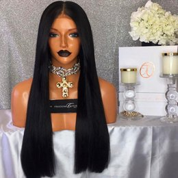 $enCountryForm.capitalKeyWord NZ - 100% Brazilian Virign Remy Human Hair Free shipping 10-28 inch STOCK Silky Straight African American Glueless Full Lace Wig Front Lace Wig