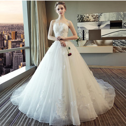 Venta al por mayor de vestidos de novia de la princesa 2018 vestidos de boda baratos vestido de novia de lujo nuevos vestidos de novia vestidos de fiesta en stock