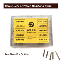 Screw repair online shopping - Screw Tube Rod for Metal Watch Band sizes Stainless Steel Repair Tools Watch Parts mm mm