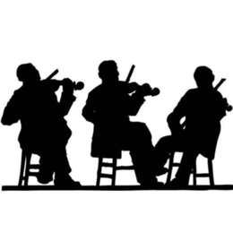 Violin Tail Australia - Violin Player Silhouette Car Sticker Vinyl Car Packaging Body Decal Personality Decorative Pattern