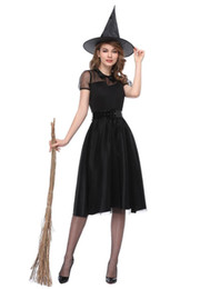 $enCountryForm.capitalKeyWord UK - Adult Witch Spellcaster Costume Evil Sorceress Undead Zombie Devil Beauty Role Play Fancy Dress Halloween Costumes for Women sexy