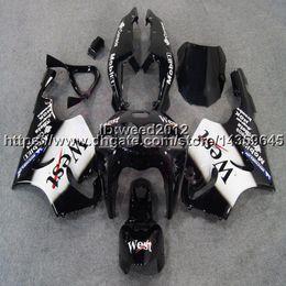 1999 Kawasaki Zx7r NZ - 23colors+5Gifts west black motorcycle article for KAWASAKI ZX7R 1996 1997 1998 1999 2000 2001 2002 2003 fairing body kit