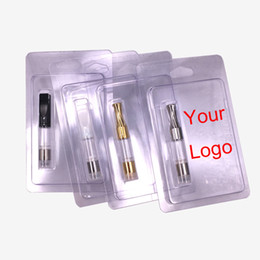 Blister Card Pack NZ - Print insert card for G2 Cartridge .5ml .1ml Round Flat mouth 510 Atomizer wax vaporizer with retail blister packing PK Glass atomizer