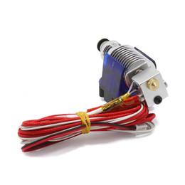 Extruder Nozzle Australia - V6 J-head Hotend Extruder Kit 3D Printers Part Cooling Fan Bracket Block Thermistors Nozzle 0.4mm 1.75mm Filament Bowden Parts