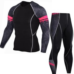 $enCountryForm.capitalKeyWord Canada - 1 Suit Men's Fashion Outdoor Sport Suit Fitness Spider Man Compression Tights T-Shirt Legging Pants Baselayers Tranning Sport Tracksuit 02