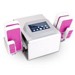 Chinese  Pro 635nm ~650nm Lipo Laser 5MW 8 Pads Weight Loss Fat Dissolve Body Shaping Slimming Beauty Equipment Spa Salon manufacturers