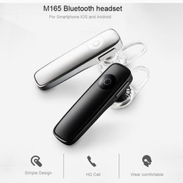 $enCountryForm.capitalKeyWord NZ - M165 Bluetooth 4.1 Headphones Wireless Earphone with Microphone Music Playing Volume Adjustable For iPhone 8 X Samsung S7 S8 S9