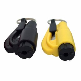 Auto Escape Australia - 3 in 1 mini Emergency Hammer 6 colors Auto Car safety hammer Window Glass Breaker Seat Belt cutter Escape Tool