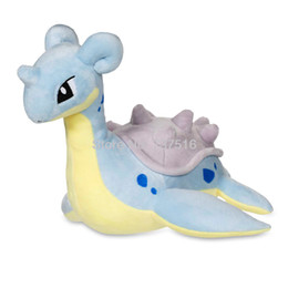 China New Anime Cute Soft Marine Reptiles Wild Lapras Plush Doll Stuffed Animals Toy (Large Size) 12 inches Kids Gifts supplier plush reptile toy suppliers