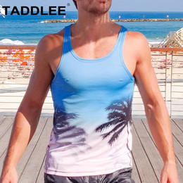 Gym Tees NZ - Taddlee Brand New Men's Tank Top Shirts Tees Undershirts Sleeveless Singlets Stringers Vest Fitness Gym Muscle Basketball Run