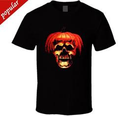 Logo Shirts For Men Australia - 2018 Summer Casual Man Halloween Bla T-shirt Horror Slasher Movie Scary Party Pumpkin New From US Band Logo Tee Shirt For Men