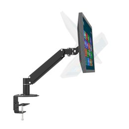 "Discount lcd tv 24 - 17-24"" LCD TV Monitor Holder Table Clamping Mount Full Motion Arm L132"