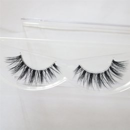 $enCountryForm.capitalKeyWord NZ - 1pc Mink Eyelashes 3D Mink Lashes Thick HandMade Full Strip Lashes Cruelty Free Korean Mink Lashes invisible False Eyelashes F18