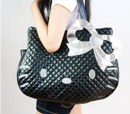 da612da269 Fashion Handbags Hello Kitty Bag Women Large Capacity Handbag bolsa  feminina Shoulder Bags Female Totes
