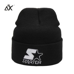 Discount skulls accessories - ADK Unisex Knied Hat Winter Clothing Accessory Brand Fashion Casual 2018 New High Quality Beanies For Girls #CAP286