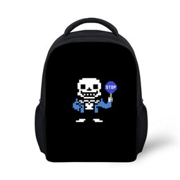 $enCountryForm.capitalKeyWord Canada - Undertale Games Pattern Large Capacity Backpack Stylish Youth Girls Boys School bags Casual Travel Backpack Book Bags