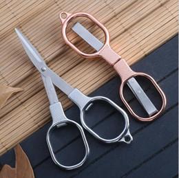 Folding travel scissors online shopping - Portable Folding Scissor Mini Foldable Travel Scissors Alloy Multifunction Scissors Tool for Students Household DIY