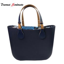 268a5a89eb Deep Blue Silicon beach handbag women Bag O bag obag style waterproof EVA  body women handbag