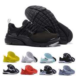 Athletics cAsuAl shoes sneAkers online shopping - Cheap Presto BR QS Tripel Black White red yellow Men Women Running Shoes Casual Designer sports Sneaker Jogging Athletic shoe Size