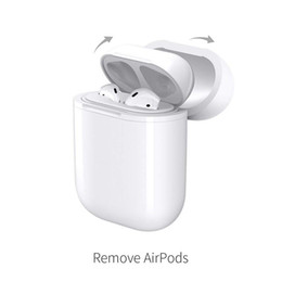 Wireless-Ladefall für Airpods QI-Standard-Airpods Wireless-Ladeadapter-Abdeckung kompatibel mit jedem Wireless-Ladegerät im Angebot