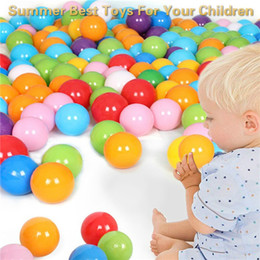 Cartoon Make Toys NZ - 100 PCS Plastic Pit Balls, Made Of Food Grade Plastic, Phthalate Free Bpa Free Summer Best Toys For Your Children
