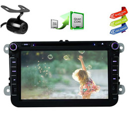 Vw Stereos Android NZ - CANBUS&Backup Camera EinCar Pure Android 6.0 Car DVD Player for VW 8'' Touch screen Double Din Car Stereo GPS Navigation In Dash