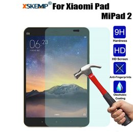 "Discount tablet screen guard - XSKEMP 9H Real Tempered Glass Screen Protector Film For Xiaomi Mipad mi Pad 2 7.9"" Anti-Explosion Clear Tablet Prot"