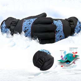 $enCountryForm.capitalKeyWord NZ - 1 Pair Warm-Resistant Ski Gloves Riding Gloves Snowmobile Motorcycle Snow Mountain Ski Goggles Waterproof Windproof