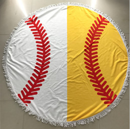 $enCountryForm.capitalKeyWord UK - Baseball Beach Towel Mandala Tapestries Polyester Tapestry Boho SPA Wraps Bikini Cover Beachwear Bath Throw Shawl Rugs Tablecloths