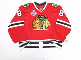 553af065b Cheap custom KANE CHICAGO BLACKHAWKS TEAM ISSUED 2015 STANLEY CUP JERSEY  stitch add any number any name Mens Hockey Jersey XS-5XL