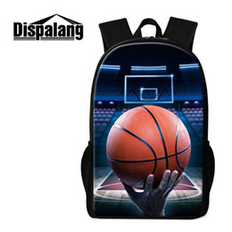 Backpacks For Kids Boys Canada - Basketball Backpack for Boys Children Outdoor Back Pack Sports School Bookbag for Teenagers Primary Students Mochila Girls Bagpack for Kids