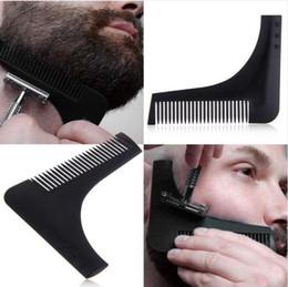 $enCountryForm.capitalKeyWord UK - New Comb Beard Bro Shaping Tool Sex Man Gentleman Beard Trim Template Hair Cut Hair Molding Trim Template Beard Modellin