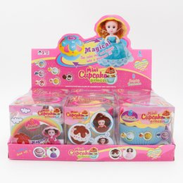 $enCountryForm.capitalKeyWord NZ - Cupcake Princess Deformable doll Cake Girl Scented Cake Princess Magical Transform Scented Girls Toys With Full dress