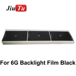 Apple Sticker Canada - Backlight film sticker black paper for iphone6 6G LCD Sreen Display back light Adhesive Sticker replacement Repair DHL free shipping
