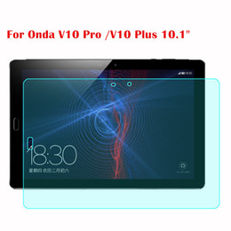 """Discount tablet onda - Screen Guard For Onda V10 Pro  V10 Plus 10.1"""" Tablet 9H Tablet Tempered Glass Screen Protector Protective Film For"""