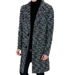 842b0b59bbaf 2017 new arrival Men Suit Slim Wool & Blends Long Single Breasted Young  Windbreaker high quality luxury Men Cashmere Overcoats