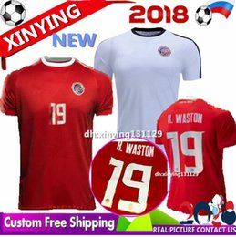 128de89e5 Costa Rica jerseys 2018 19 world cup M.UREÑA Costa Rica soccer jersey home  away G.gonzález CAMPBELL WALLACE K.WASTON football shirt