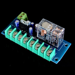 camera japan Australia - Freeshipping UPC1237 Speaker Protection Board DIY KIT Used Japan OMRON Relay for Dual Channel
