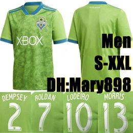 dddfc140c Top Thai quality 18 19 MLS soccer jersey 2018 2019 Seattle Sounders FC  green DEMPSEY ROLDAN LODEIRO MORRIS football shirts S-2XL