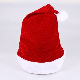 daa403ce858c5 15 colors of fashion Santa Claus hat for new design hat ladies gift girls  hair accessories Christmas festival event party favor