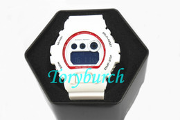 China 6900 top quality New arrival in 2018 auto light relogio fashion watch with box men's sports watch,all functions work suppliers
