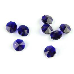 $enCountryForm.capitalKeyWord UK - Hot Sales Dark Sapphire 14mm One Hole Crystal Prism Beads Parts Decorative Chandelier Parts Fancy Wholesale