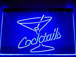 Cocktail Light Sign Australia - LB522- Cocktails Rum Wine Lounge Bar Pub LED Neon Light Sign