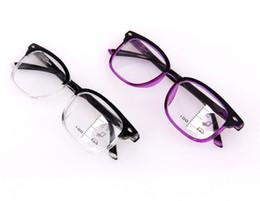 d87123c71 New Vintage Inteligente Multifocal Progressiva Óculos de Leitura perto e  longe Óculos Multifunções Bifocal Óculos +100 a +300 dioptria