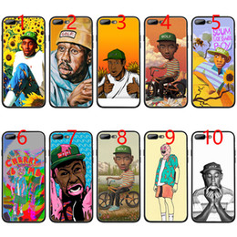 c3cb1bf70851 flower boy tyler the creator Soft Black TPU Phone Case for iPhone XS Max XR 6  6s 7 8 Plus 5 5s SE Cover