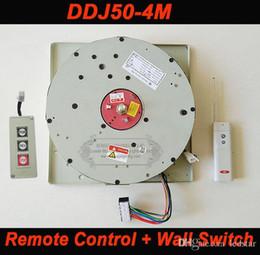 Remote Controlled Wall Switch NZ - DDJ50 50KG 4M Wall Switch+Remote Controlled Lighting Lifter Chandelier Hoist Lamp Winch Light Lifting System AC 85-265V