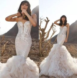 Pnina Tornai Mermaid Wedding Dresses with Bling